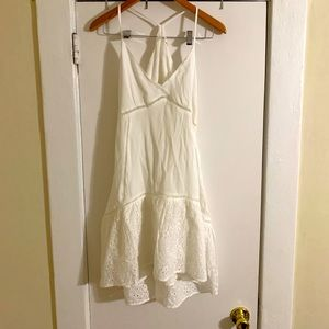 LUSH White Mini Dress Size Small NWT